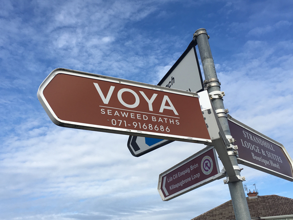 Delphic Visit Ireland – VOYA (Celtic Seaweed Bath Products)