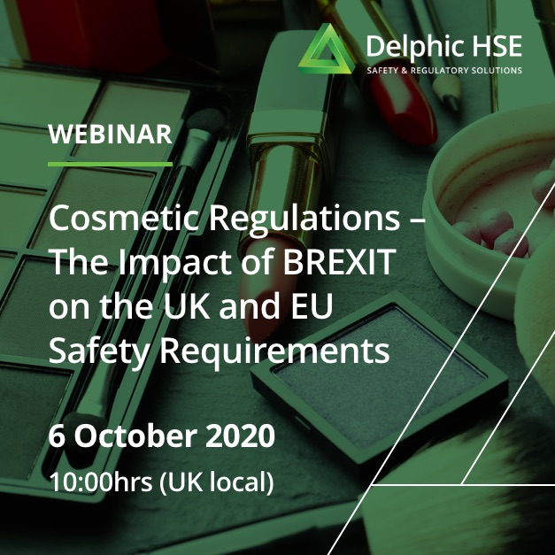 Cosmetic Regulations – The Impact of BREXIT on the UK and EU Safety Requirements (October)