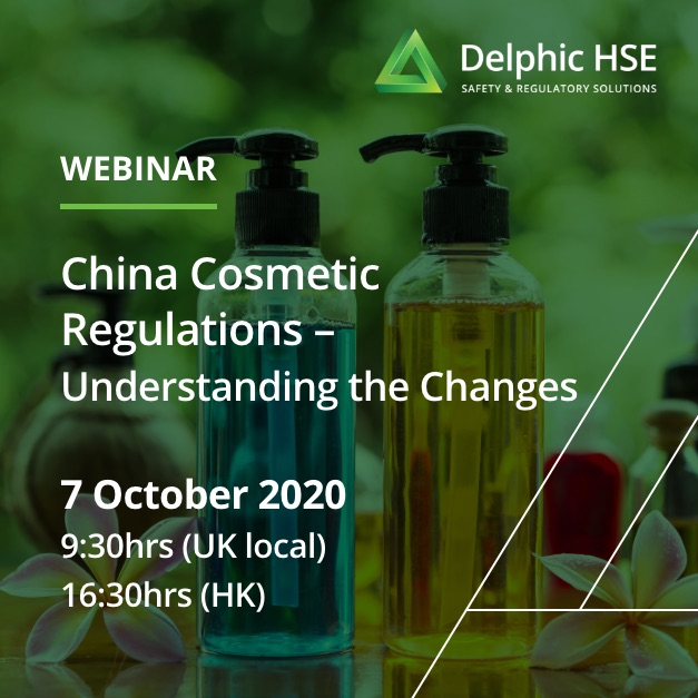 China Cosmetic Regulations – Understanding the Changes (7 October)
