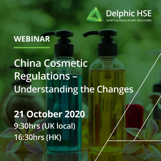 China Cosmetic Regulations – Understanding the Changes (21 October)