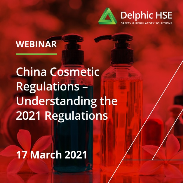 China Cosmetic Regulations – Understanding the 2021 Regulations (17 March 2021)